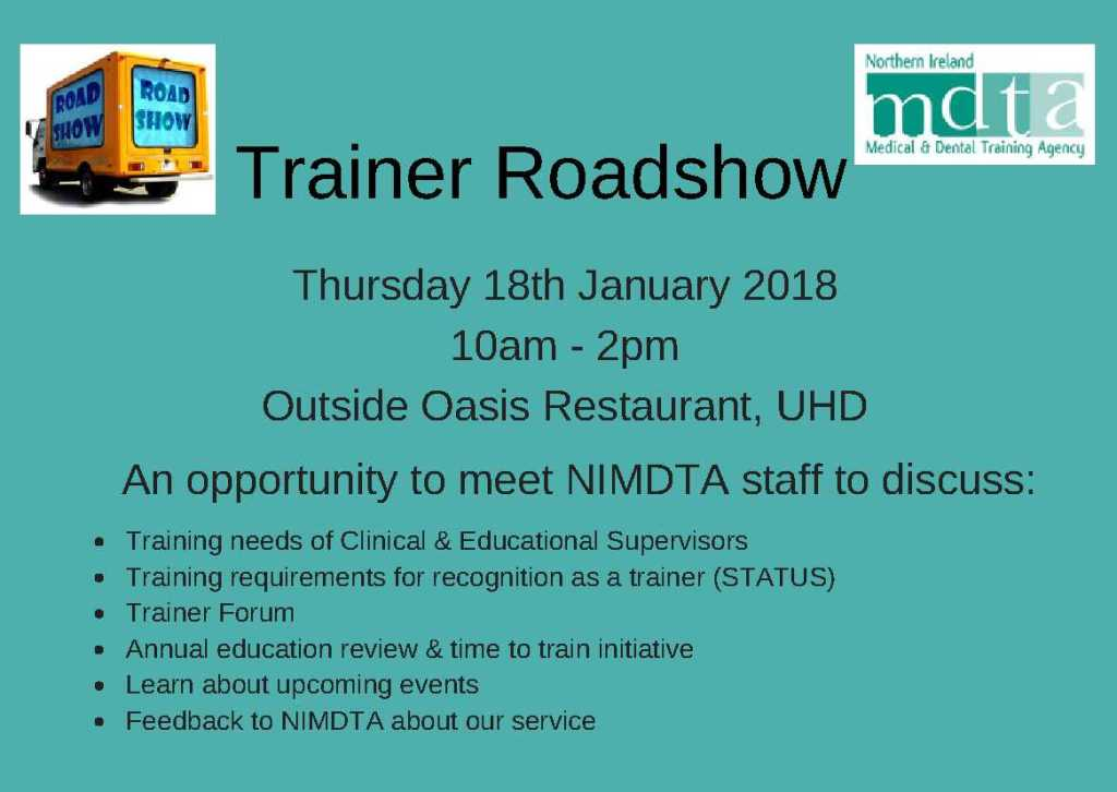 Trainer Roadshow UHD