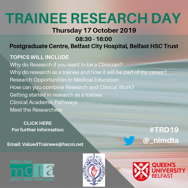 v1 Trainee Research Day 2019