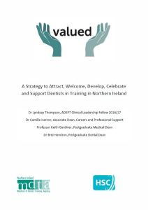 VALUED Strategy - Dental